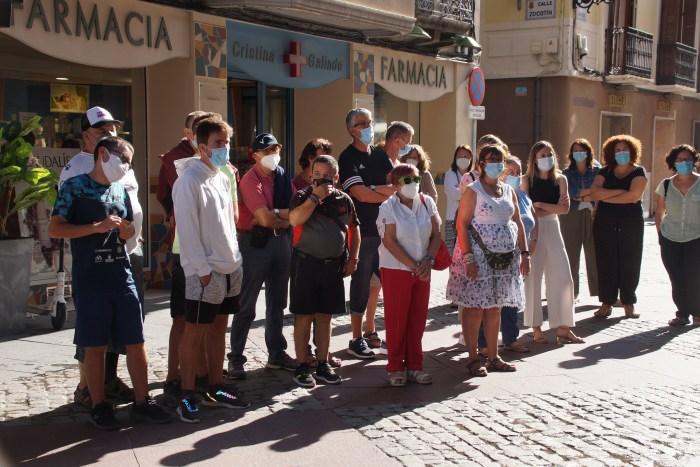 Participantes en el acto. (FOTO: Rebeca Ruiz)