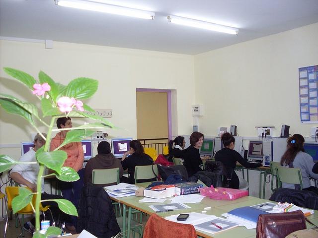 El Centro de Educación de Adultos Jacetania retoma su actividad con una amplia oferta formativa. (Imagen de archivo).
