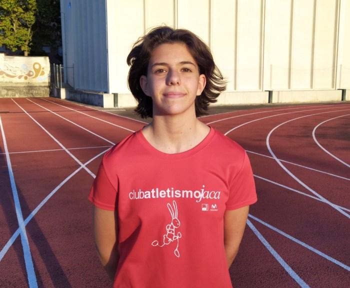 Inés Solana, del Club Atletismo Jaca, convocada por la Selección Aragonesa