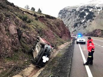 Accidente de Candanchú. (FOTO: PC Jacetania)