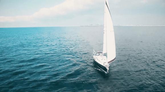 Vannuit Nauerna binnen een uur op de Noordzee