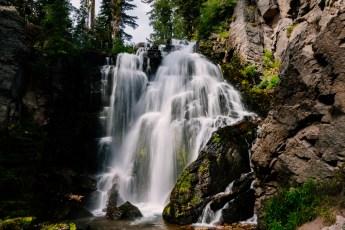 king's creek waterfal, slow shutter style