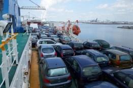 voitures sur le pont