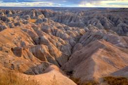 Badlands Dakota du Sud