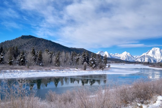 Paysage du Grand Teton