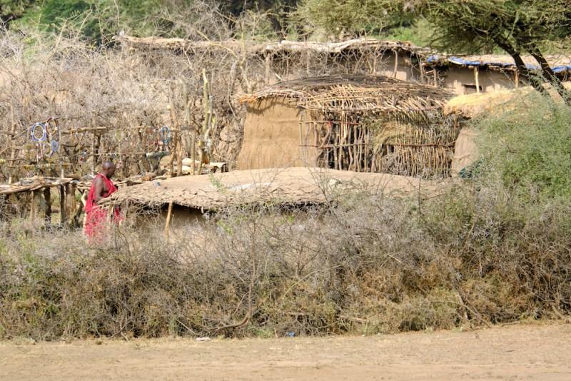Village traditionnel pour touriste