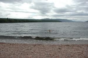 Swimming in Loch Ness