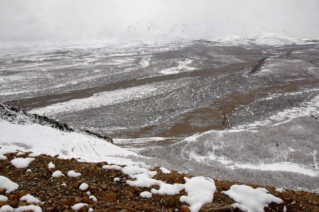 View of a mountain range in Denali