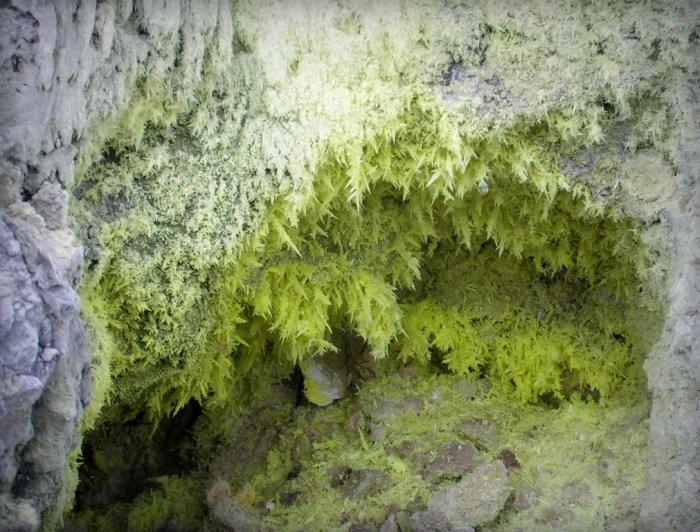 tangkuban perahu sulfur deposit