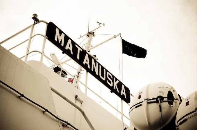 Our ship to Alaska