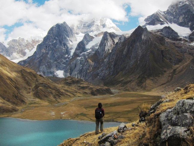 Panorama from Huayhuash Trek