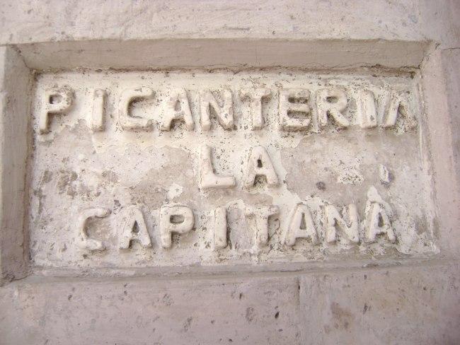 La Capitana Restaurant - Arequipa