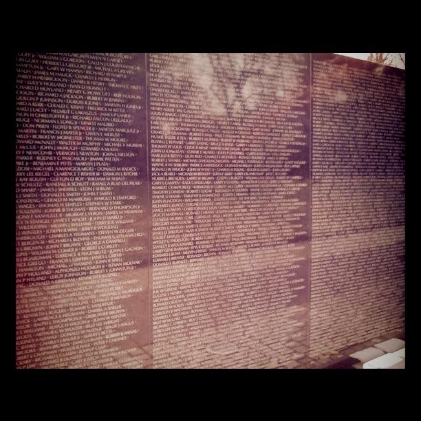 Vietnam War Veteran Memorial - Washington DC