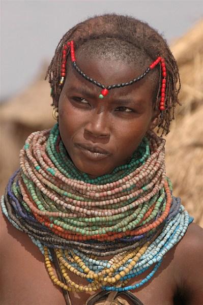 An Ethiopian woman