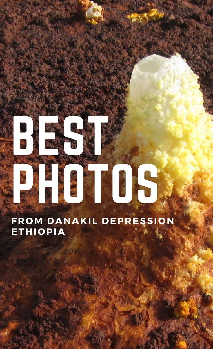 Photos from Danakil Depression, Ethiopia