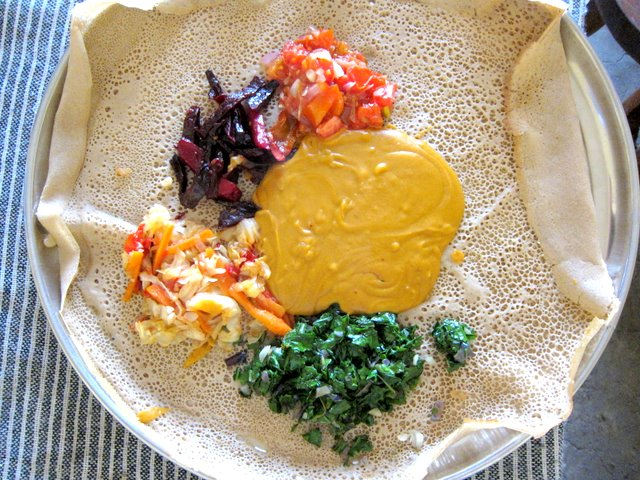 Vegetarian guide to ethiopian food more than just shiro bayenetu from unique restaurant lalibela forumfinder Choice Image