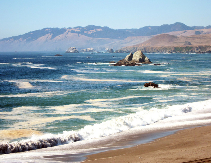 Sonoma Coast State Park, highway 1 north of San Francisco coastline
