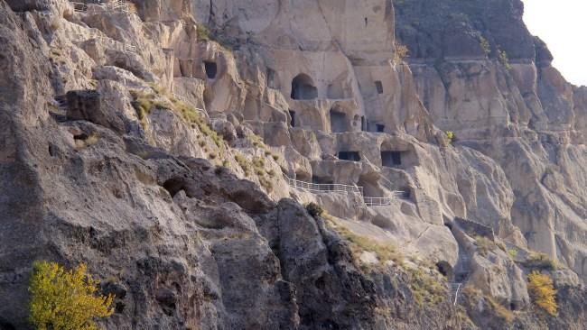 The cave city of Vardzia