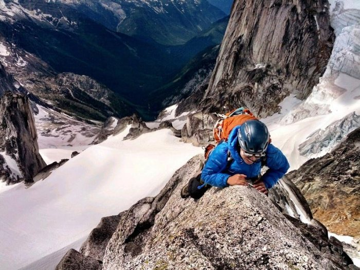 Climbing the West Ridge of Bugaboos