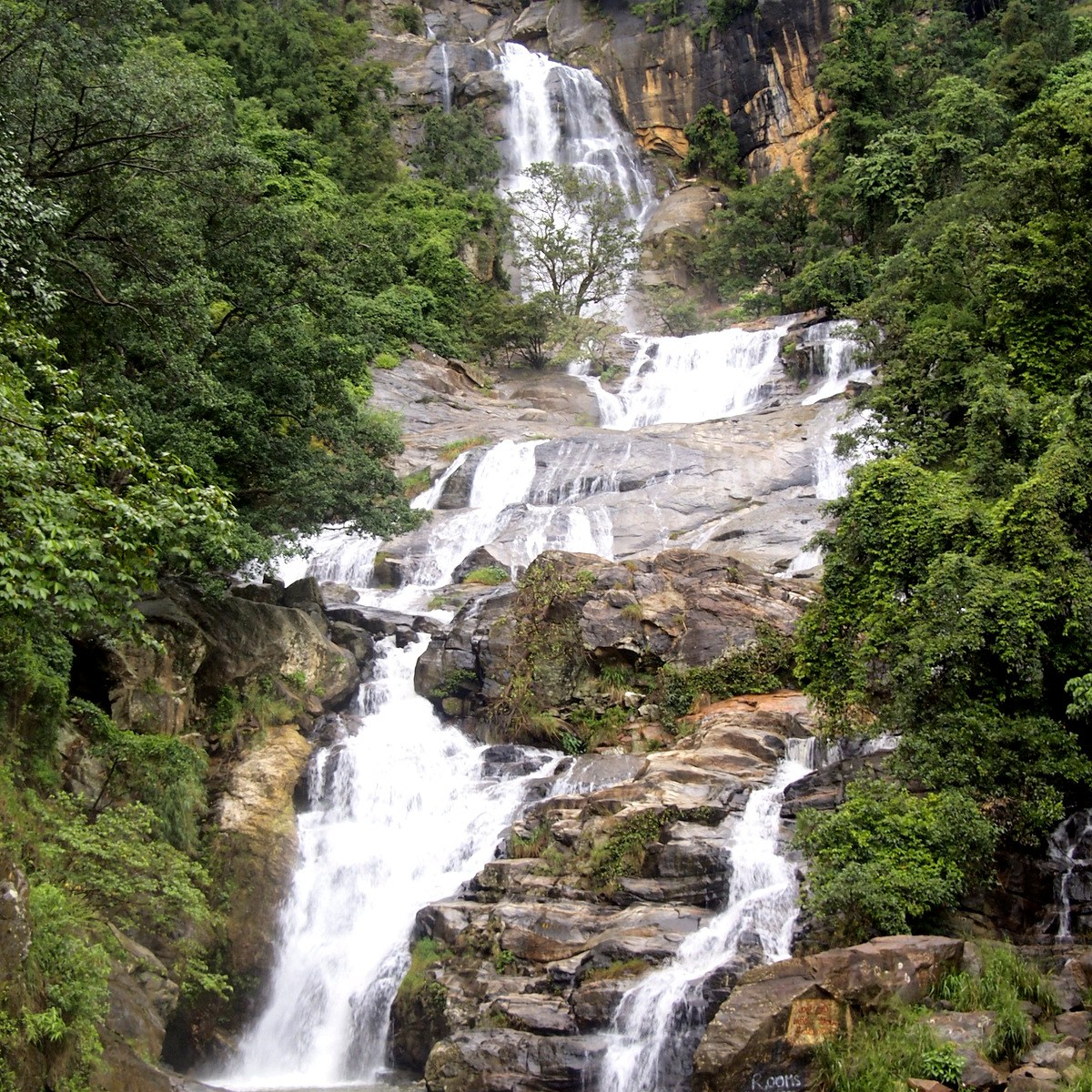 Ravana Waterfall, Sri Lanka