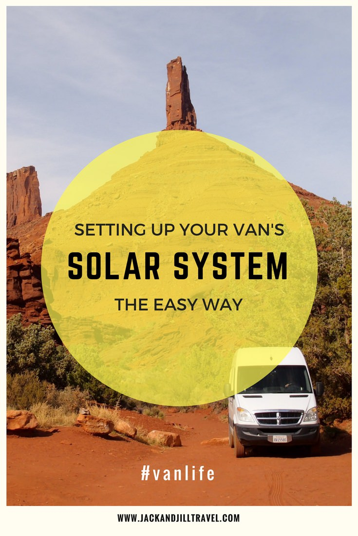 How we set up our Sprinter Van's solar power system