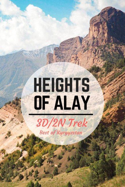 Trekking Heights of Alay mountain