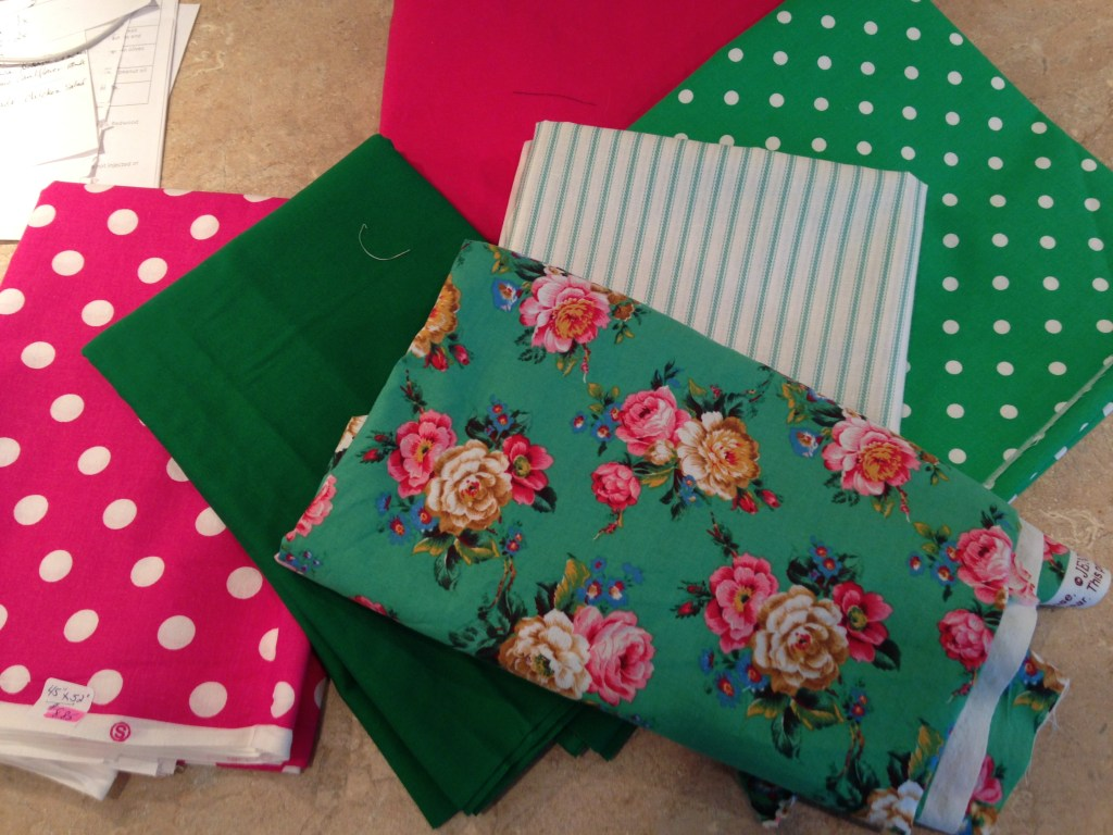 Derby for a Cure Aprons - fabric bundle