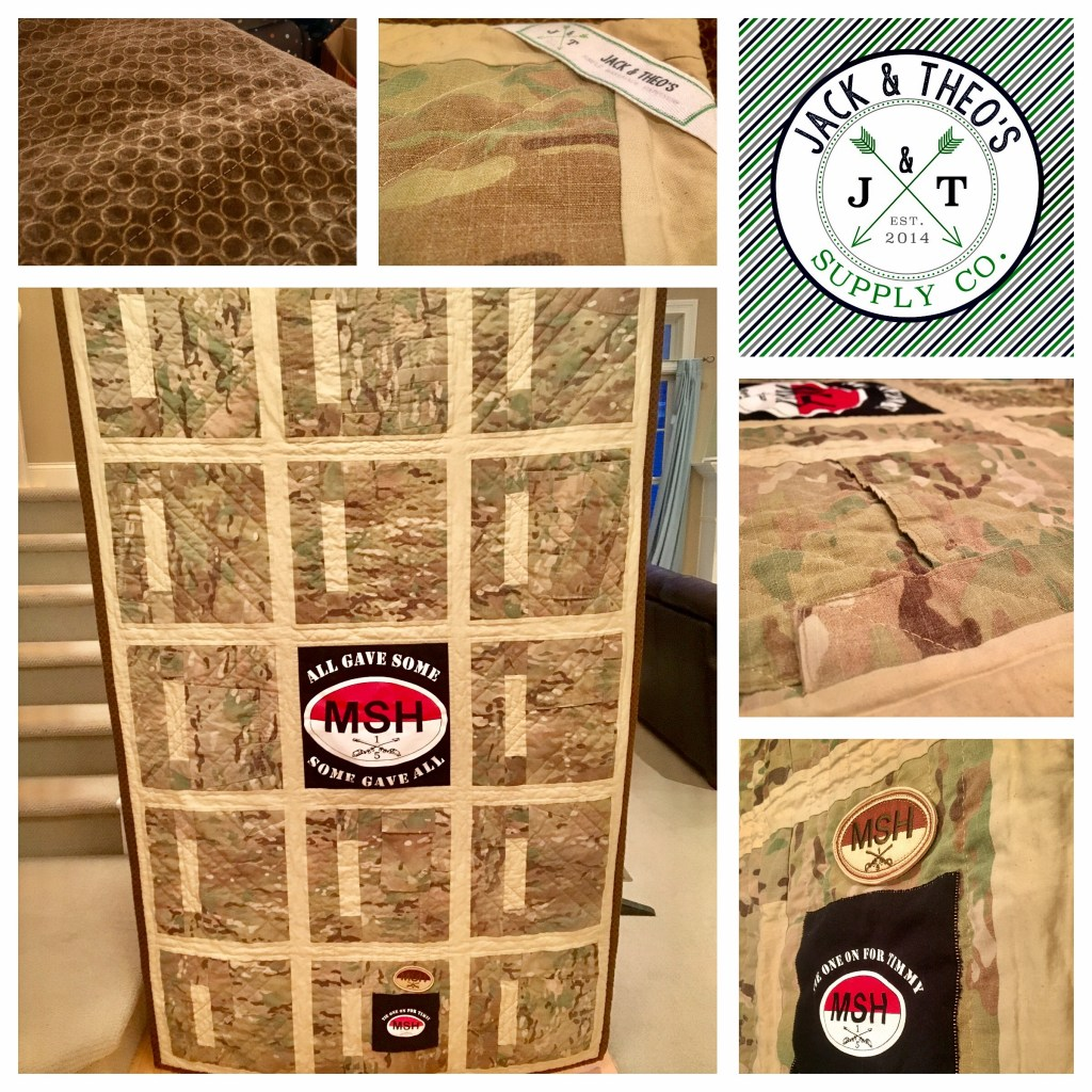 Memory Quilt - Colonel Timothy Sayne