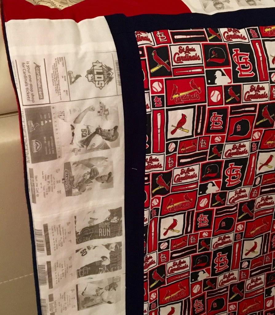 St. Louis Cardinals Tickets - Photo Memory Quilt
