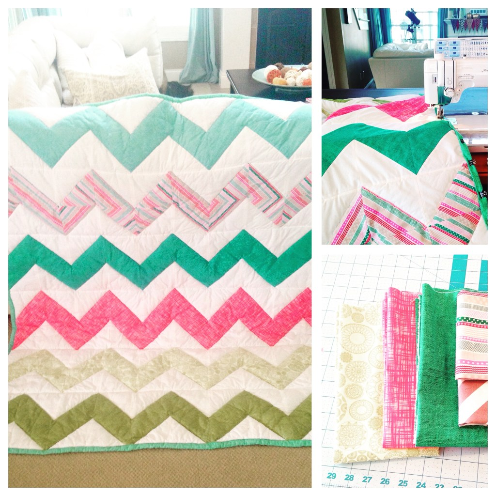 Tierney's Chevron Chicago Quilt