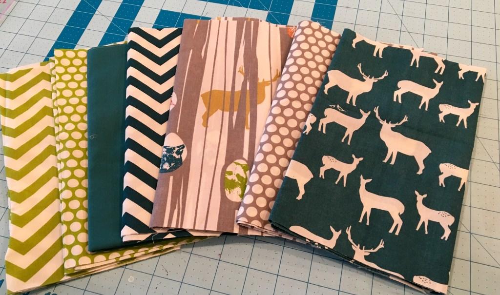 Woodland fabric bundle