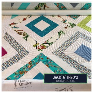 Spiral Longarm Quilting - HandiQuilter - Jack & Theo's Quilting Co