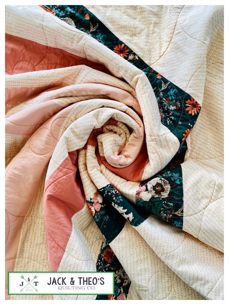 Harlow's Spectrum Quilt - AGF - Bespoke Custom Quilt