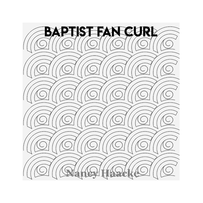 Baptist Fan Curl - Nancy Haacke