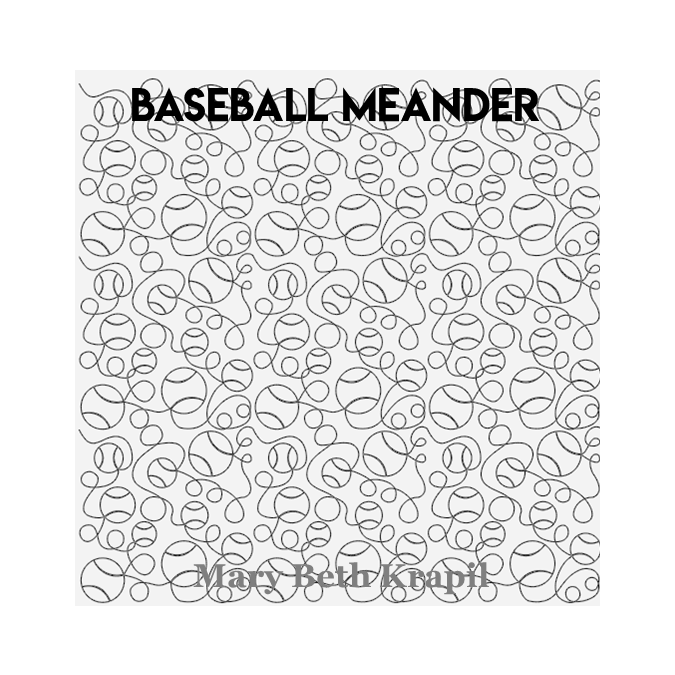 Baseball Meander - MB Krapil