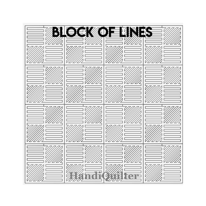 Block of Lines - HQ