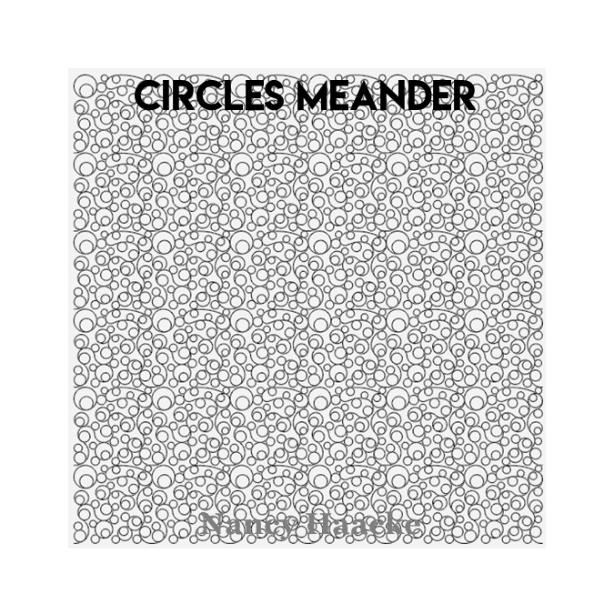 Circles Meander - Nancy Haacke