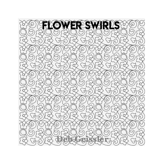 Flower Swirls - Deb Geissler