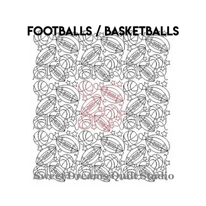 Footballs Basketballs - Sweet Dreams