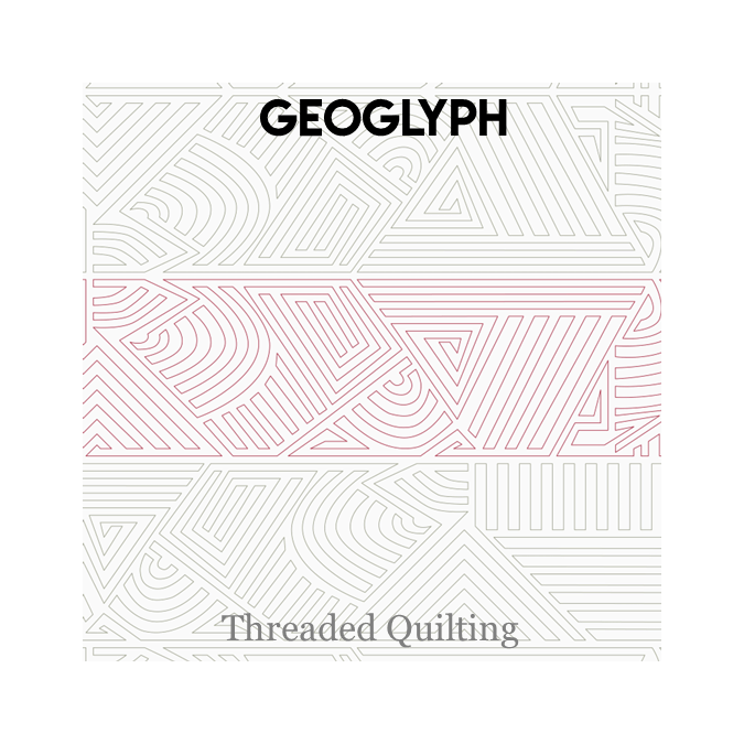 Geoglyph - Threaded Quilting