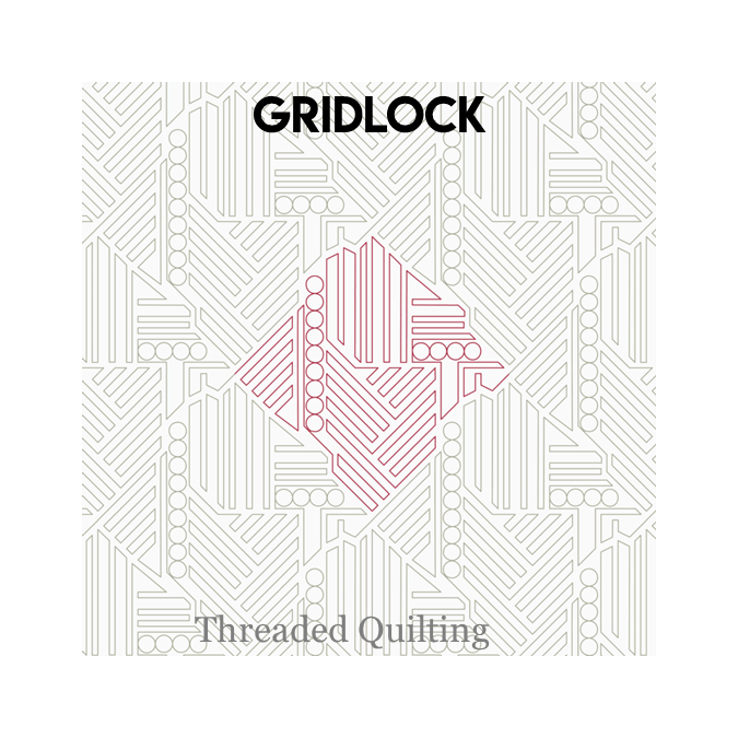 Gridlock - Threaded Quilting