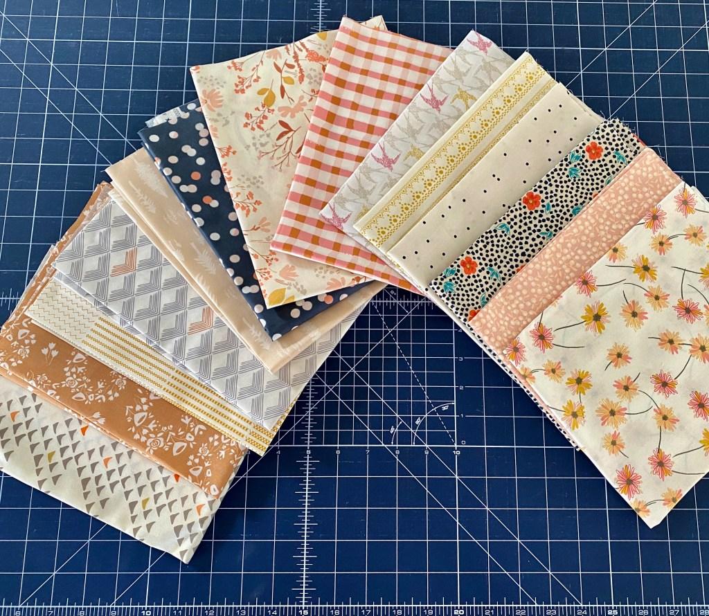 Lisa's Quilt - Custom Fabric Bundle - Art Gallery Fabrics - Murdock Design and Textiles