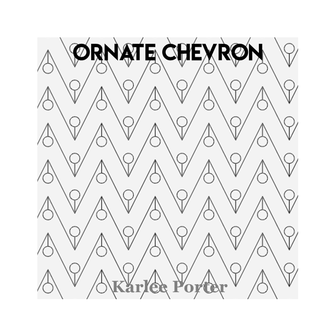Ornate Chevron - Karlee Porter