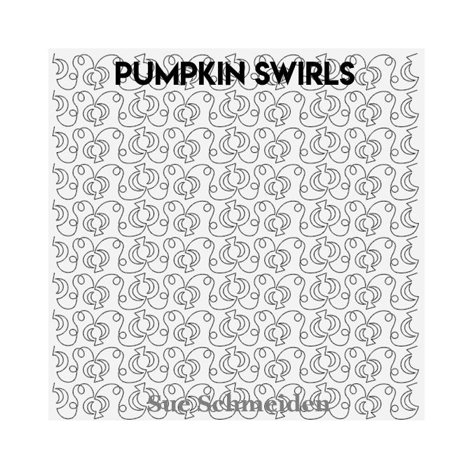 Pumpkin Swirls - Sue Schmeiden