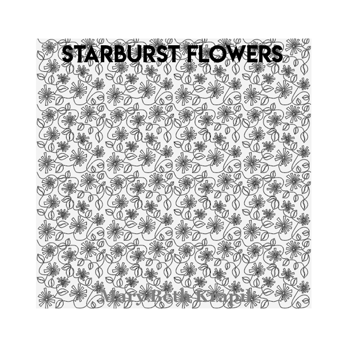 Starburst Flowers - MB Krapil
