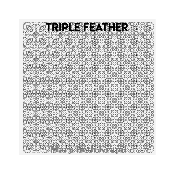 Triple Feather - Mary Beth Krapil
