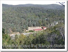 Lookout above the Ranger Station