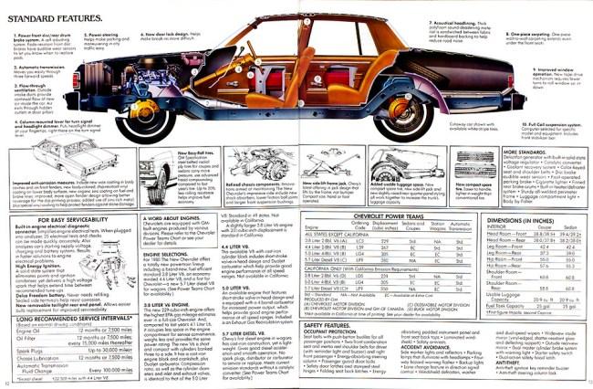 1980 Chevrolet Caprice Classic: It's The NEW Chevrolet