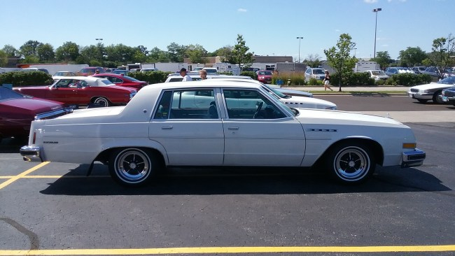 on 1976 Buick Lesabre
