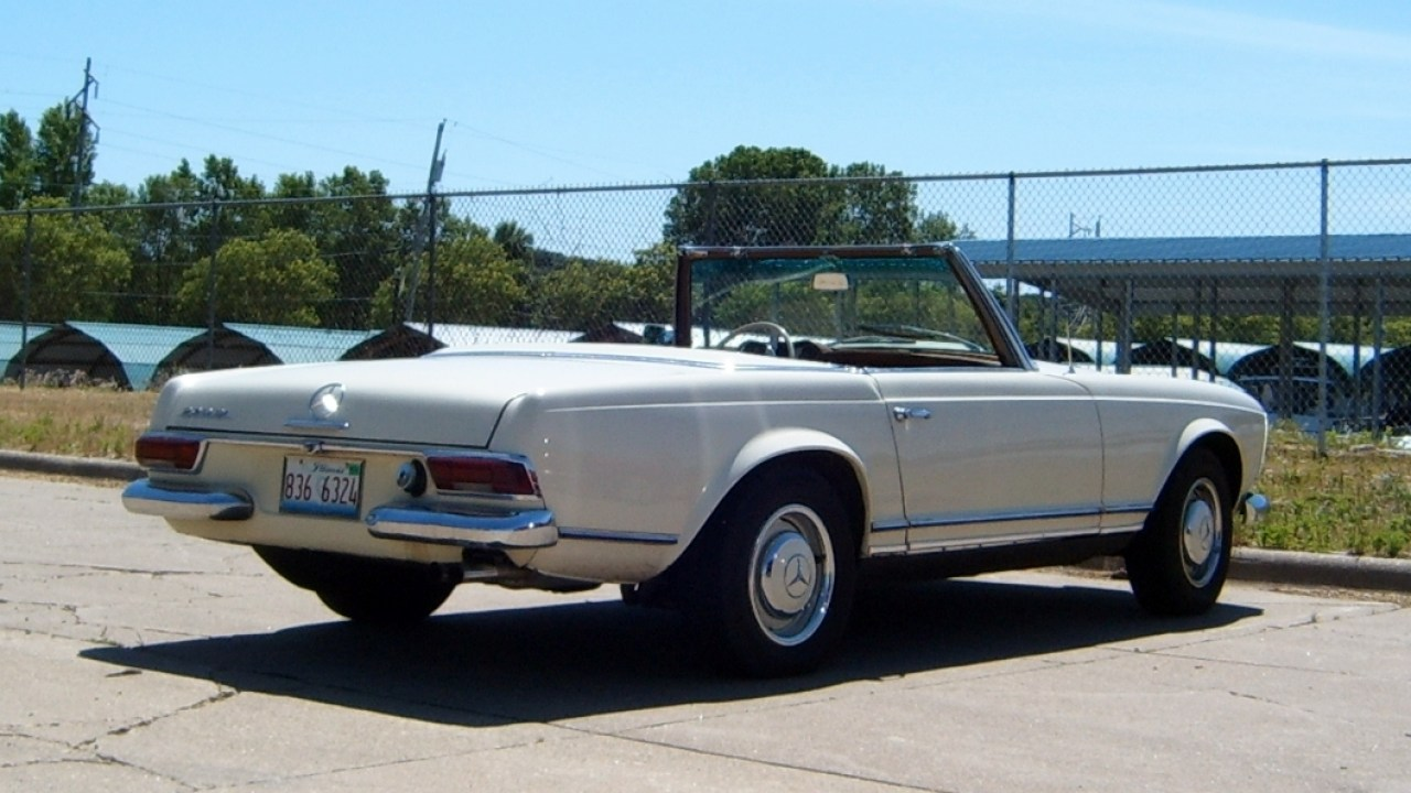 5e51b537b619 1963 Mercedes-Benz 230SL - Oh Lord, Won't You Buy Me A Pagoda ...